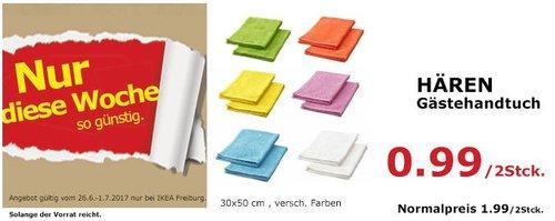 IKEA HÄREN Gästehandtuch, 30x50 cm, versch. Farben - jetzt 50% billiger