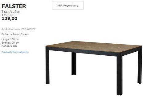 Ikea Ps 2014 Tisch Innen Aussen Fur 79 00 20