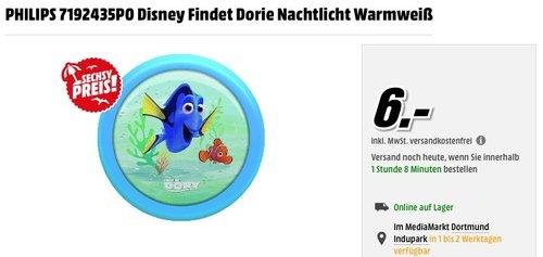 Philips Disney Findet Dorie LED Nachtlicht, blau - jetzt 33% billiger