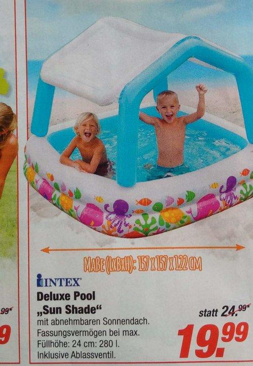 "Intex - Deluxe Pool ""Sun Shade"" - jetzt 20% billiger"