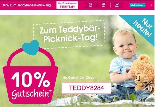 10 % Rabatt auf fast alles bei babymarkt.de - jetzt 10% billiger