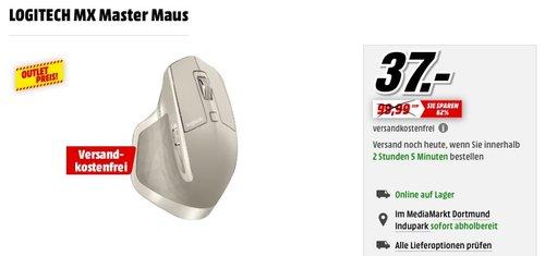 Logitech MX Master kabellose Maus - jetzt 37% billiger