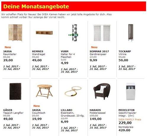 Monatsangebote bei IKEA Kamen (Bsp. HARADS Polstersessel) - jetzt 25% billiger