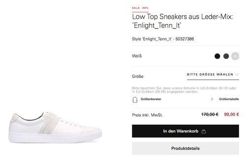 BOSS Green Sneaker Enlight_Tenn_lt  Herren - jetzt 29% billiger