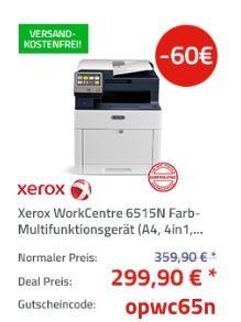 Xerox WorkCentre 6515N Farb-Multifunktionsgerät - jetzt 17% billiger