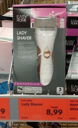 Lady Shaver - jetzt 31% billiger