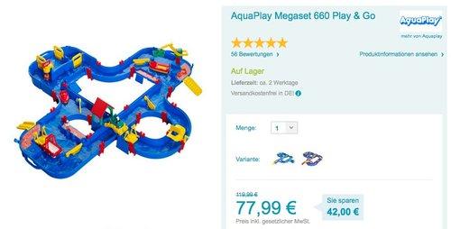 Aquaplay  - Riesen Wasserkanalsystem - jetzt 12% billiger