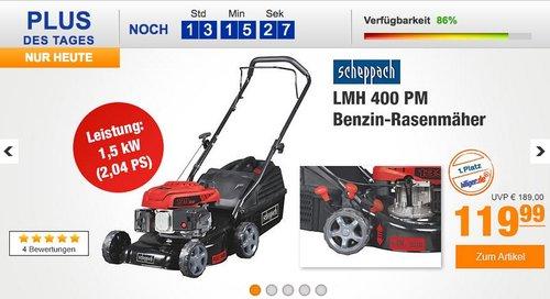 Scheppach Benzin-Rasenmäher LMH400PM - jetzt 24% billiger