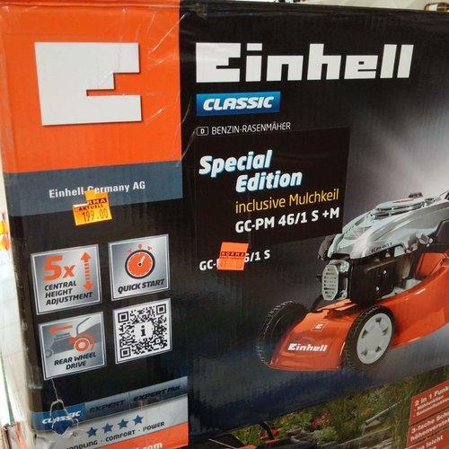 Einhell Benzin Rasenmäher GC-PM 51/2 S - jetzt 15% billiger