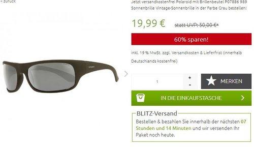 Polaroid 7886 Rechteckig Sonnenbrille  - jetzt 38% billiger