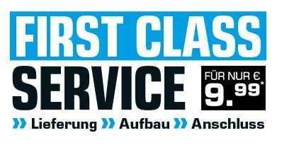 First Class Service (Lieferung, Aufbau und Anschluss) für Großgeräte bei Saturn - jetzt 83% billiger