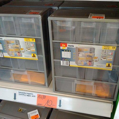Allit Kleinteilemagazin VarioPlus Depot M17 - jetzt 33% billiger