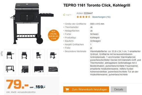 TEPRO Toronto Click - jetzt 11% billiger