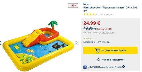Intex - Ozean Play Center, Planschbecken - jetzt 28% billiger