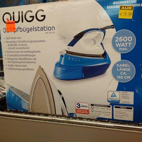 Quigg Dampfbügelstation DBS 4015.16 - jetzt 25% billiger