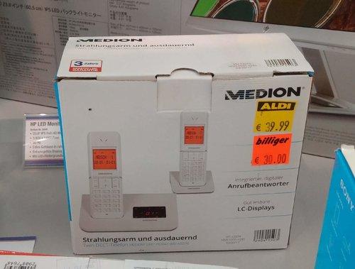 Twin DECT-Telefon Medion LifeP63041 - jetzt 25% billiger