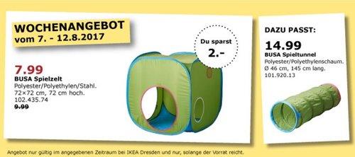 IKEA BUSA Spielzelt, 72x72 cm, 72 cm hoch - jetzt 20% billiger
