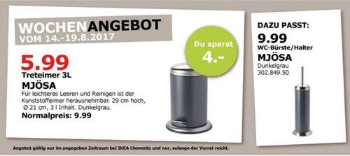 IKEA MJÖSA Treteimer 3 L - jetzt 40% billiger