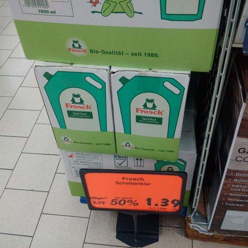 Frosch Spiritus Auto-Scheibenklar 1.8 L - jetzt 50% billiger