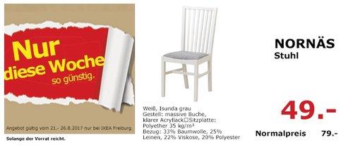 IKEA NORNÄS Stuhl - jetzt 38% billiger
