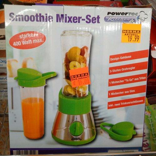 Powertec Smoothie Mixer-Set 400 Watt - jetzt 25% billiger
