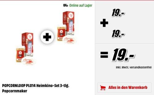 Popcornloop Heimkino-Set  - jetzt 50% billiger