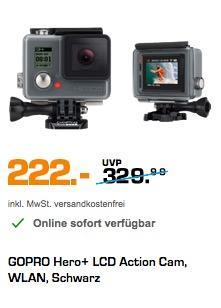 GoPro HERO+ LCD Actionkamera - jetzt 7% billiger
