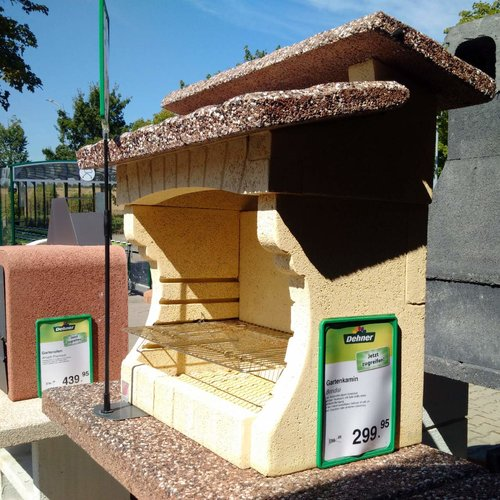 Sarom Gartengrillkamin Brindisi - jetzt 50% billiger