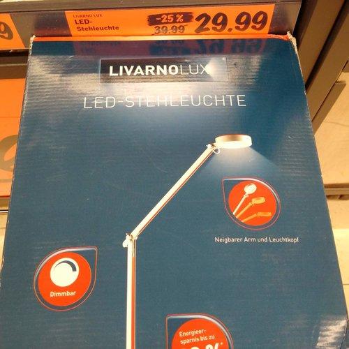LIVARNOLUX Led-Stehleuchte, dimmbar - jetzt 25% billiger