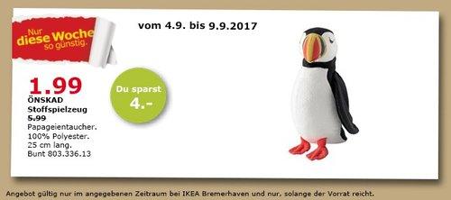 IKEA ÖNSKAD Stoffspielzeug, 25 cm lang - jetzt 67% billiger