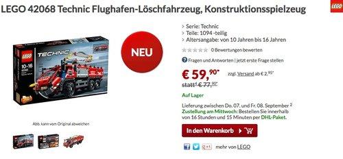 LEGO Technic 42068 - Flughafen-Löschfahrzeug - jetzt 11% billiger