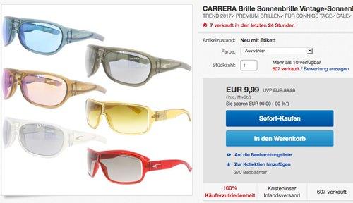 CARRERA Vintage-Sonnenbrille - jetzt 23% billiger