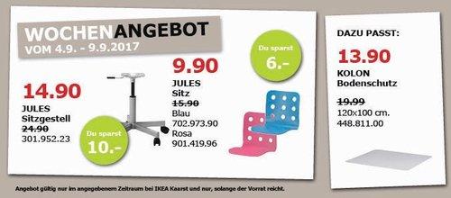 IKEA JULES Schreibtischstuhl für Kinder - jetzt 29% billiger
