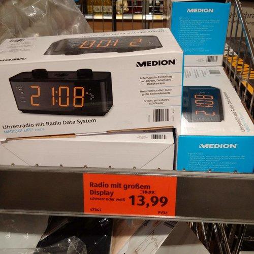 Medion Life E66375 Uhrenradio - jetzt 30% billiger