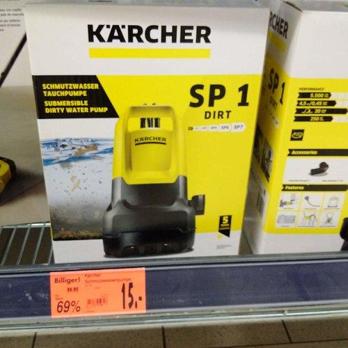 Kärcher Entwässerungspumpe (SP 1 Dirt)  - jetzt 70% billiger