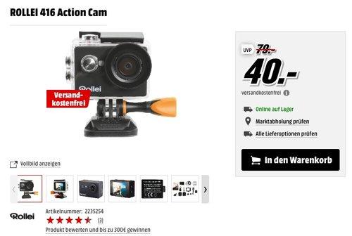Rollei Actioncam 416 - Full HD Video Auflösung - jetzt 38% billiger
