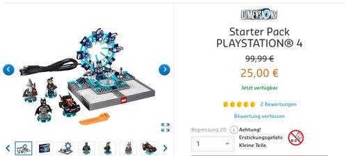 LEGO Dimensions - Starter Pack - [PlayStation 4] - jetzt 43% billiger