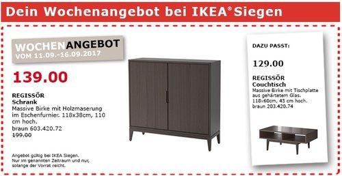 IKEA REGISSÖR Schrank , 118x38 cm, 110 cm hoch - jetzt 30% billiger