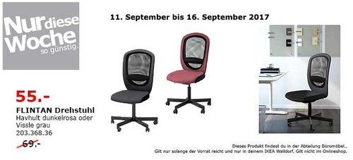 IKEA FLINTAN Drehstuhl - jetzt 20% billiger