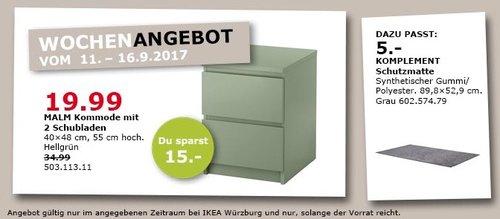 IKEA MALM Kommode mit 2 Schubladen, 40x48 cm, 55 cm hoch - jetzt 43% billiger
