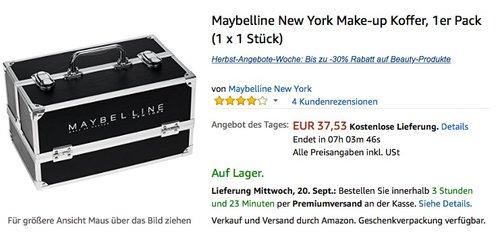 Maybelline New York Make-up Koffer - jetzt 17% billiger