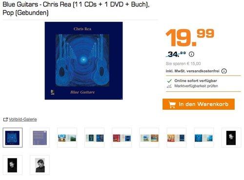Blue Guitars (11 CDs + 1 DVD + Buch)  - jetzt 38% billiger