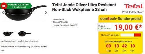Tefal Jamie Oliver Ultra Resistant Non-Stick Wokpfanne 28 cm - jetzt 46% billiger