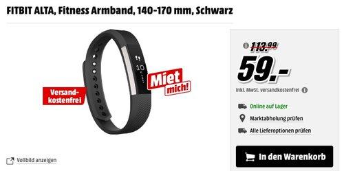 Fitbit Unisex Fitness Armband Alta - jetzt 37% billiger