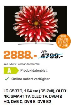 LG OLED65B7D 164 cm (65 Zoll) OLED Fernseher - jetzt 5% billiger