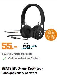 Beats by Dr. Dre EP Kopfhörer schwarz - jetzt 17% billiger