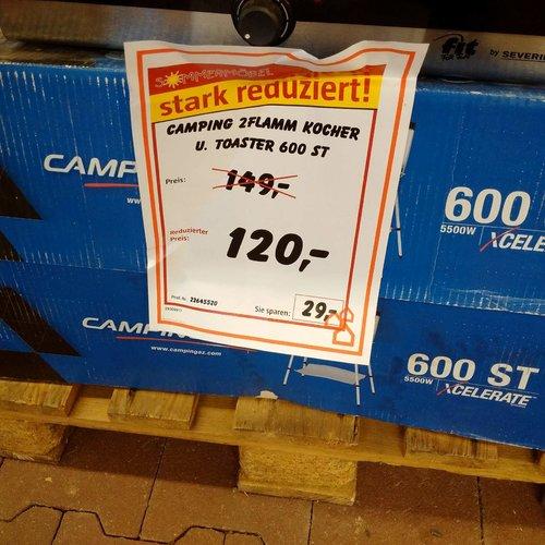 Campingaz 600 ST Campingkocher - jetzt 19% billiger