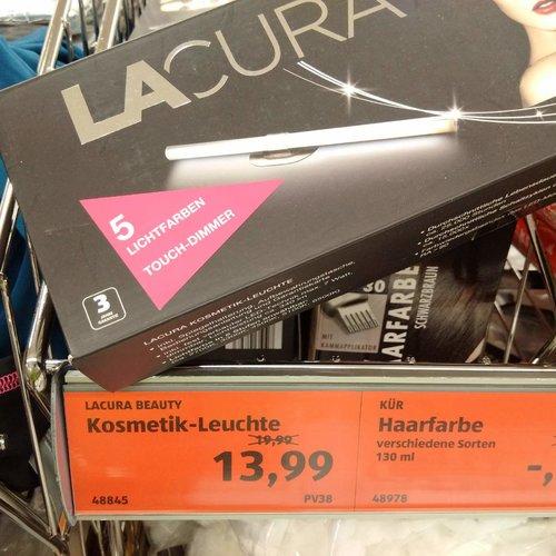 LACURA BEAUTY Kosmetik Leuchte - jetzt 30% billiger