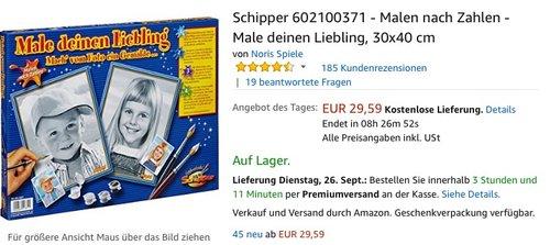 Schipper 602100371 - Malen nach Zahlen - Male deinen Liebling, 30x40 cm - jetzt 14% billiger