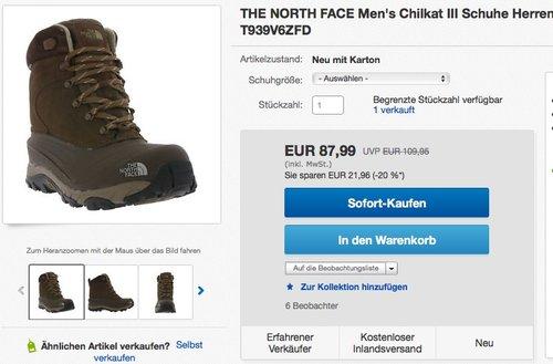 THE NORTH FACE Men's Chilkat III - jetzt 10% billiger